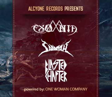 Release Show: Exomnia, Saddayah (RO), Blasted Chapter
