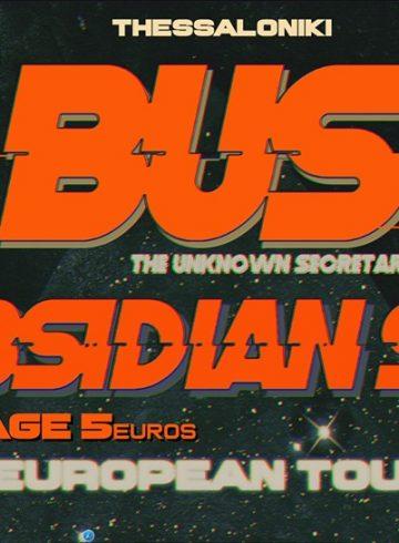 Bus the unknown secretary / Obsidia Sea [BG] Live @8Ball