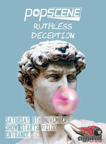 Popscene-Ruthless Deception Live At 8ball