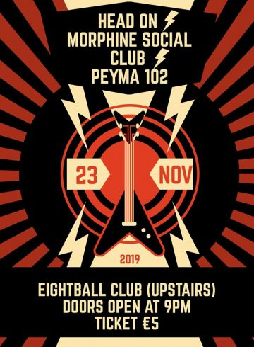 Head Οn / Morphine Social Club / Ρεύμα 102 I Live at 8ball