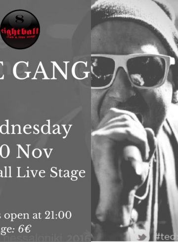 The Gang@8Ball LIVE Stage!