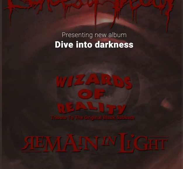 Echoes Of Decay/Wizards of Reality/Remain in Light Live at 8ball