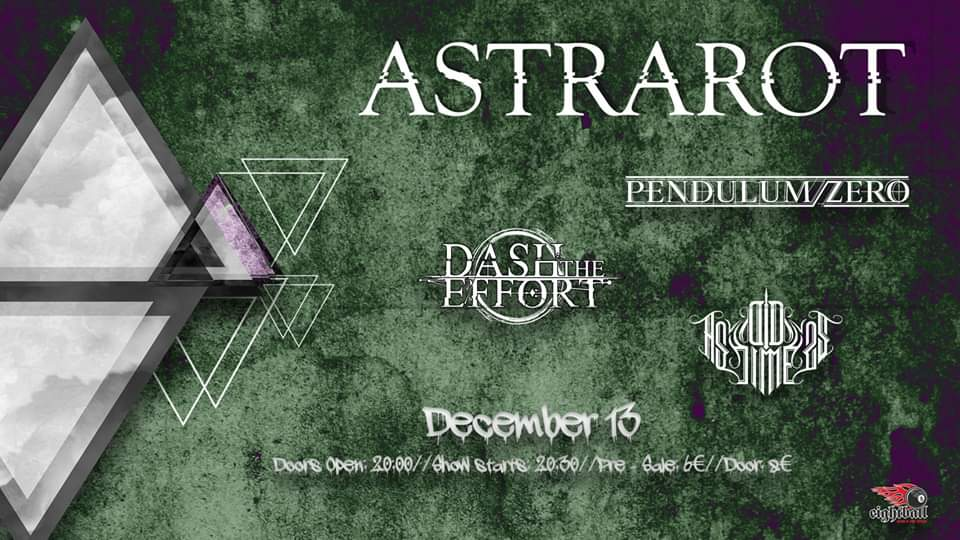 Astrarot, Pendulum Zero, Dash the Effort, As Old As Time LIVE