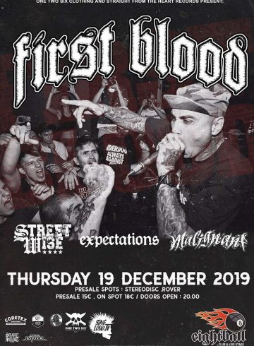 First Blood, Streetwise, Expectations live in Thessaloniki