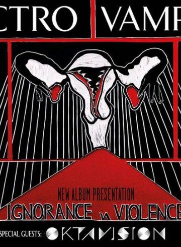 Electro Vampires Live & Παρουσίαση Δίσκου 19.12 στο Eightball