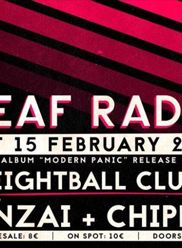 "DEAF RADIO ""Modern Panic"" Thessaloniki Release Show"