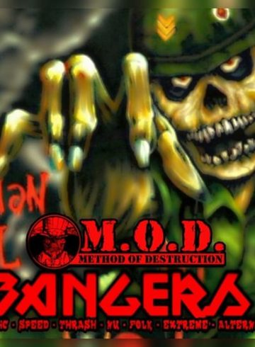Headbangers 8Ball | M.O.D. Aftershow Party