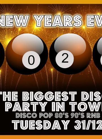 New Years Eve Double Disco Party 2020