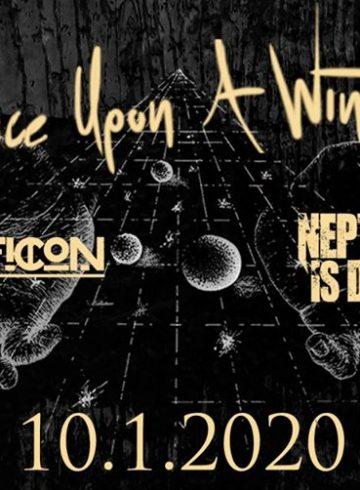 Οnce Upon A Winter / Sciopticon / Νeptune Is Dead Live @8Ball