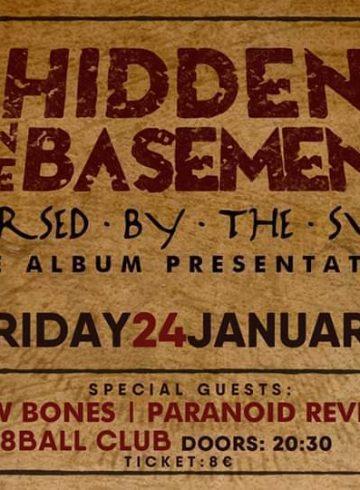 Hidden in the basement Live album presentation in Thessaloniki!