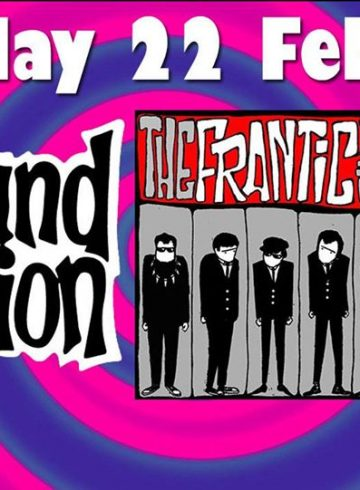 The Sound Explosion+The Frantic Five Live Sat 22/2/2020 at 8Ball