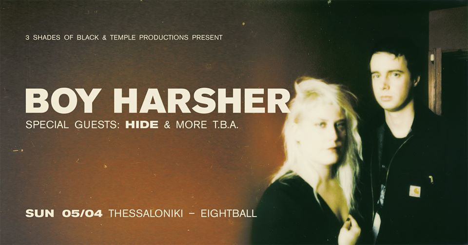 Boy Harsher w/ special guest: Hide live in Thessaloniki