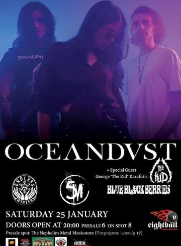 Oceandvst/ My Endless Winter/ 5M/ Blue Black Berries LIVE