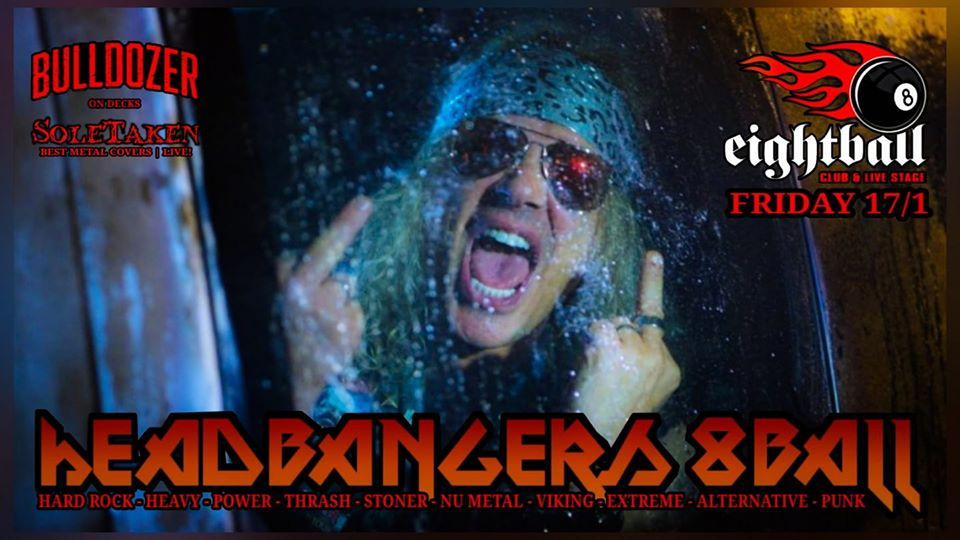 Headbangers 8Ball | HEAVY METAL RULES – Dj Bulldozer
