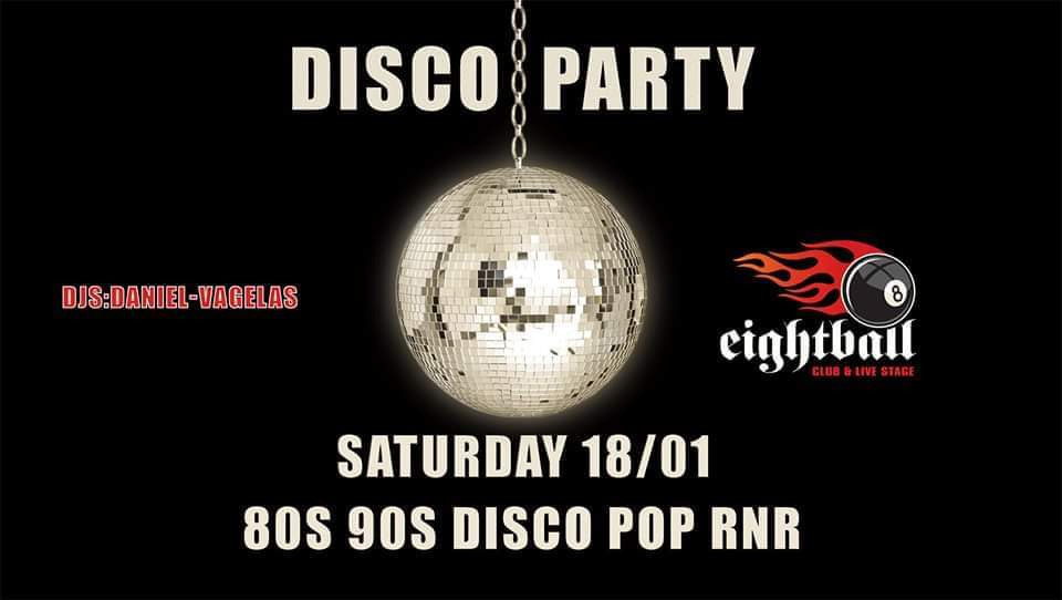 OLD SCHOOL DISCO PARTY | Djs: Vagelas & Daniel