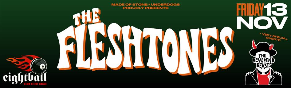 The Fleshtones [usa] live in Thessaloniki w/ the Reverend Beasts