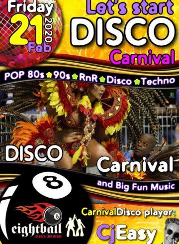Disco carnival 21.2