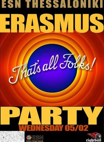 Erasmus goobye party