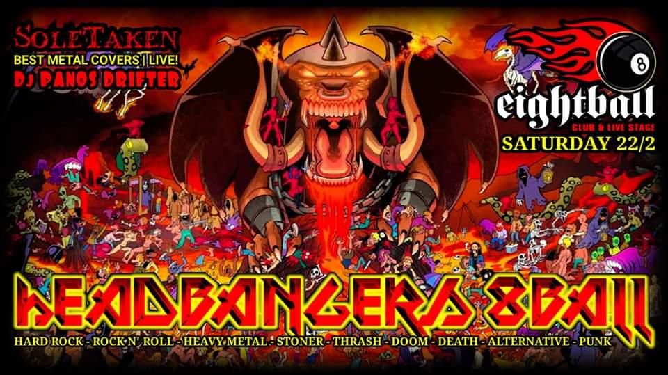 Headbangers 8Ball | CARNIVAL DIABLO – Dj Panos Drifter