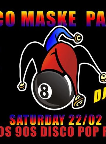 DISCO MASKE PARTY Dj:vagelas