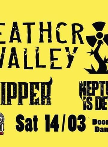 Deathcrop Valley / Chipper / Neptune is Dead Live at 8Ball Club