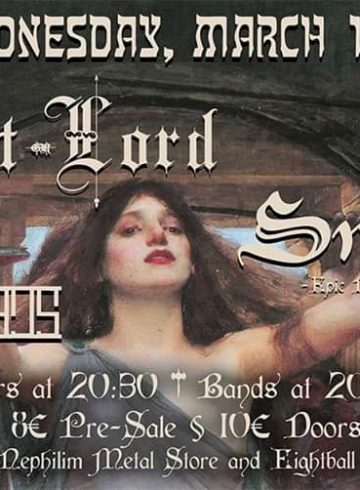 Serpent Lord, Smoulder (CAN), Magnum Opus @8ball Live March 18