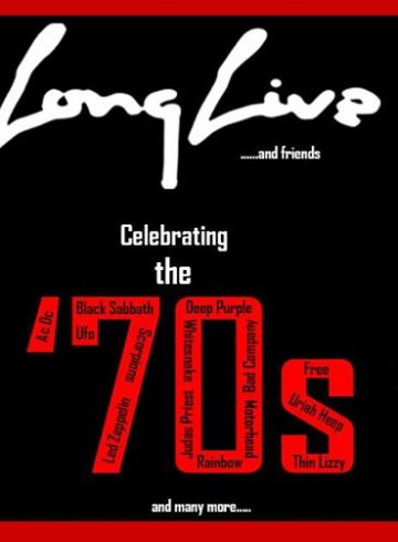 LONG LIVE and friends@celebrating the '70s-8Ball live stage