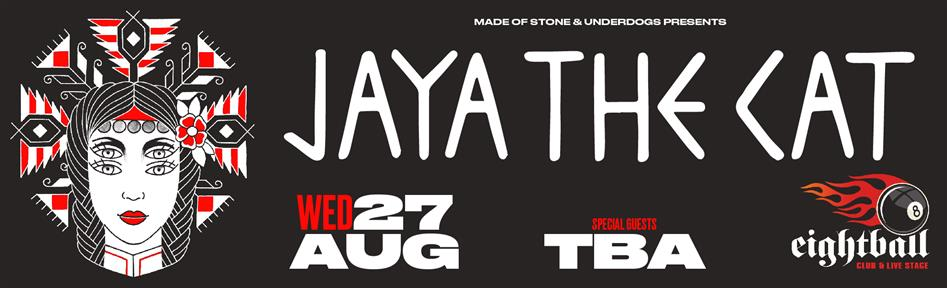 Jaya the Cat [usa/nl] live in Thessaloniki
