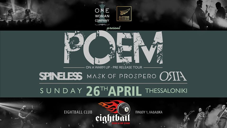 POEM Live at 8ball with Special Guests