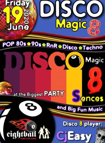 THE BIGGEST DISCO PARTY IN TOWN