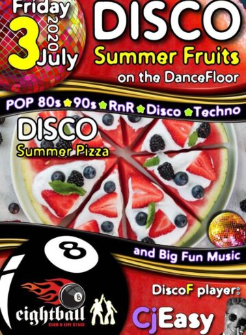 Summer Fruits on the Dance Floor – Disco