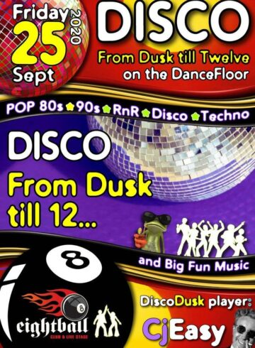 THE BIGGEST DISCO PARTY IN TOWN CORONA EDITION