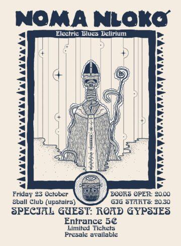 NOMA NLOKO Live @ Eightball Club w/ Road Gypsies
